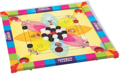 Lovely Novelty Carrom Small Board Game