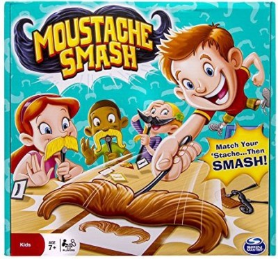 Spin Master Games Moustache Smash Board Game