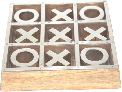 The Royal Collection Tic Tac Toe Wooden Board Game