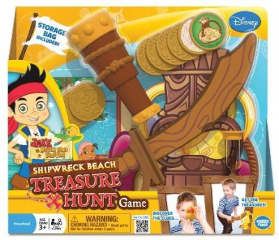Wonder Forge Jake And The Never Land Pirates Shipwreck Beach Treasure Board Game