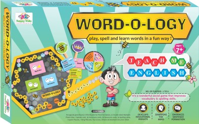 Happy Kidz Word-O-Logy Board Game