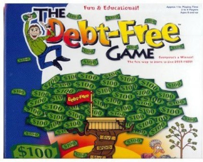 Family Learning Games The Debt Free Board Game