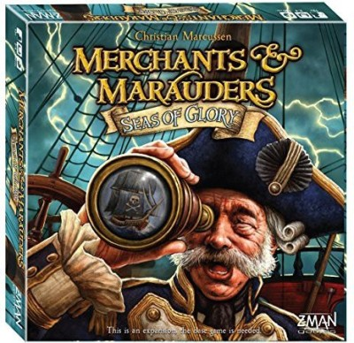 Z-Man Games Merchants And Marauders Seas Of Glory Board Game