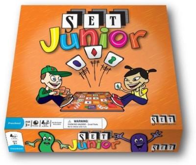 SET Enterprises Set Junior Your Very First Set Board Game