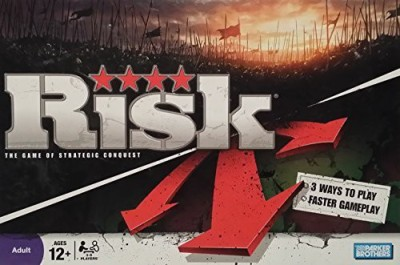Parker Brothers Risk The Of Strategic Conquest Board Game