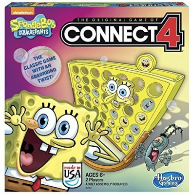 Hasbro Spongebob Squarepants Connect 4 Board Game