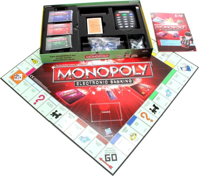 Funskool Monopoly E Banking Board Game