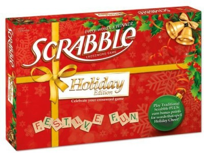 Scrabble Holiday Board Game