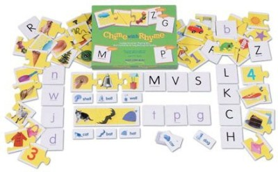 Educational Insights Chime With Rhyme Board Game