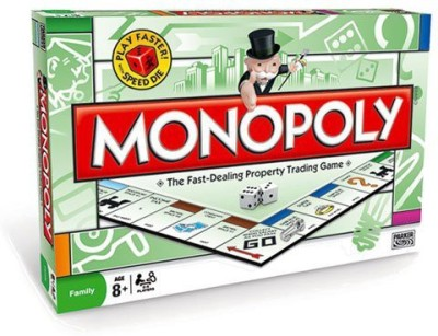 Parker Brothers Monopoly Board Game