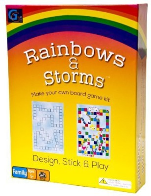 Griddly Games Rainbows And Storms Board Game