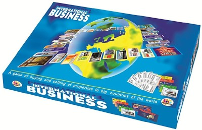 Promobid International Business Board Game