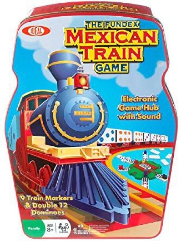 Ideal Mexican Train Dominoe Board Game