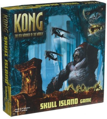 Pressman Toy King Kong Skull Island Board Game