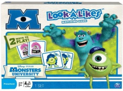 Monsters University Lookalikes Matching Board Game