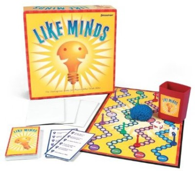 Pressman Toy Like Minds Board Game