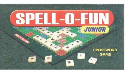 C J Enterprise Spell-O-Fun Jr Board Game