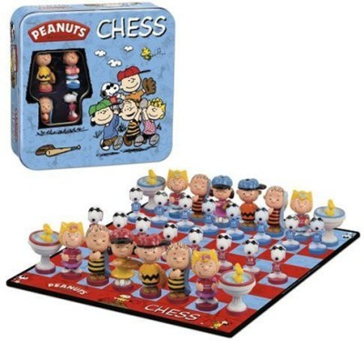 Peanuts Chess Board Game