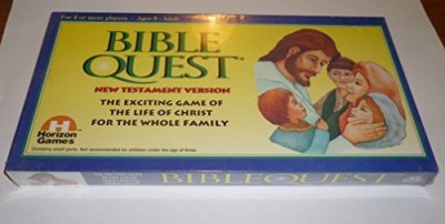 Horizon Games Bible Quest New Testament Version Board Game