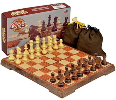 Yellow Mountain Imports Full Sized Large Magnetic Chess Set 106