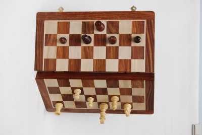 Best Chess 12 Inches Handcrafted Magnetic wooden Chess with pieces Board Game