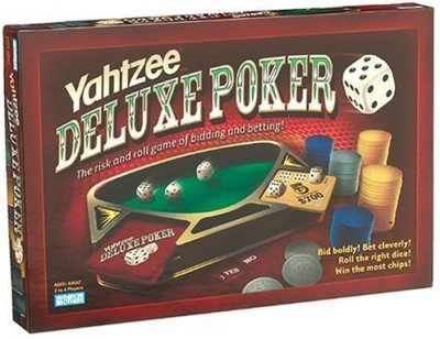 Parker Brothers Yahtzee Deluxe Poker Board Game