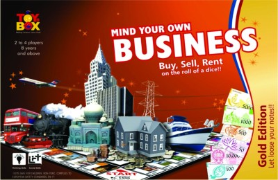 Toysbox Business Gold Board Game