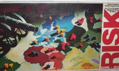 Parker Brothers Risk 1980 Board Game