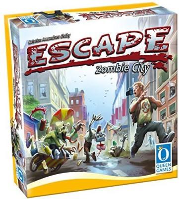 Queen Games Escape Zombie City Board Game