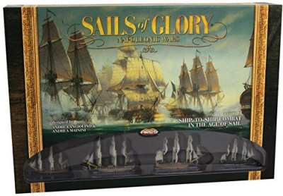 Ares Games Sails Of Glory Napoleonic Starter Board Game