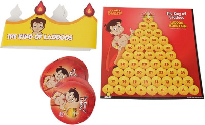 MadRat Games The King of Laddoos Board Game