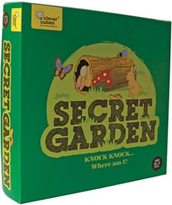 Clever Cubes Secret Garden Board Game