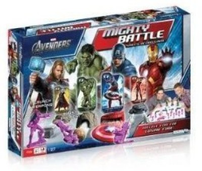 Games Avengers Mighty Battle Board Game