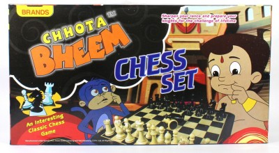 Brands Chhota Bheem Chess Set Board Game
