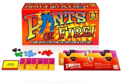R & R Games Pants On Fire Board Game