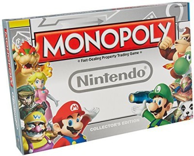 USAopoly Monopoly Nintendo Board Game