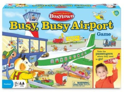 Wonder Forge Richard Scarry Airport Board Game