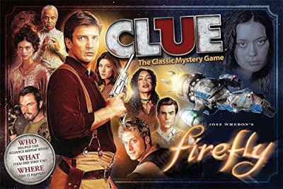 USAopoly Firefly Clue Board Game