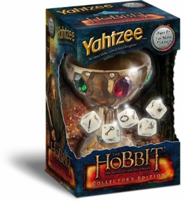 Yahtzee The Hobbit The Desolation Of Smaug Collector,S Edition Board Game