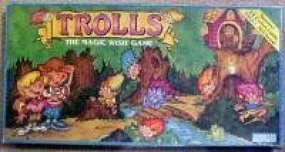 Trolls The Magic Wish Board Game