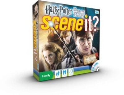 Scene It Harry Potter The Complete Cinematic Journey Board Game