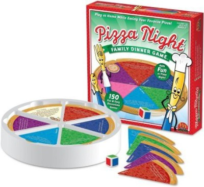 Family Time Fun Pizza Night Family Dinner Board Game