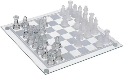 Phonenix Elegant Glass Chess Set Board Game