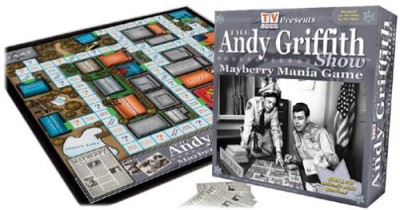 Toon Art Mayberry Mania Board Game