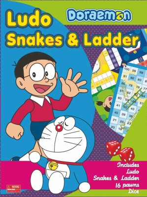 BPI SNAKES & LADDERS - DORAEMON Board Game