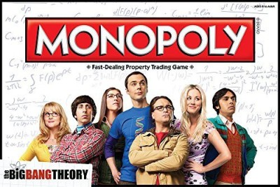 USAopoly The Big Bang Theory Monopoly Board Game