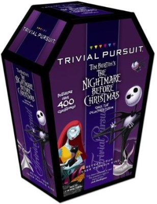 USAopoly Trivial Pursuit Tim Burton,S The Nightmare Before Christmas Board Game