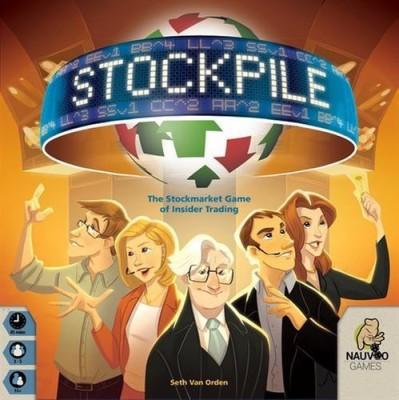 Nauvoo Games Stockpile Board Game