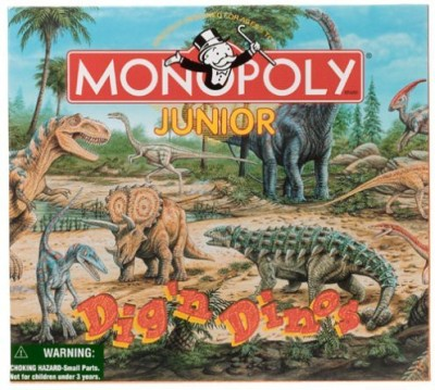 Monopoly Jr Dig,N Dinos Board Game