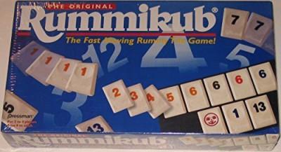 Pressman Toy Rummikub 1997 Edition Board Game